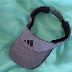 Adidas Grey & Black Climacool Visor